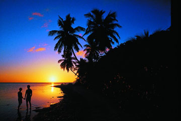 Sunrise on the Virgin Islands